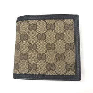 Gucci #150413 GG Canvas Wallet